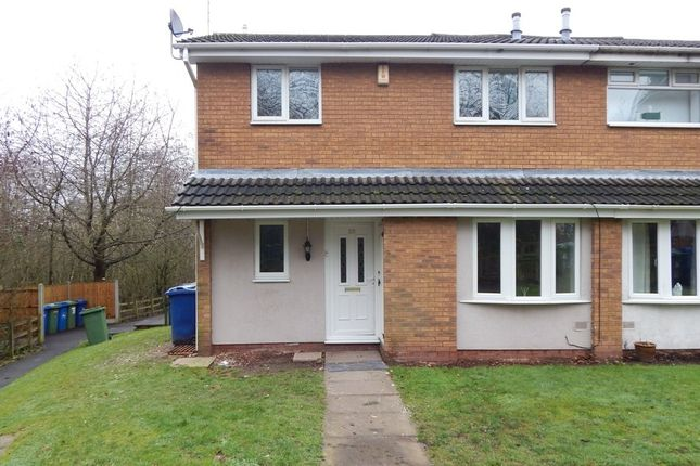 Thumbnail 2 bed semi-detached house to rent in Apple Walk, Heath Hayes, Cannock