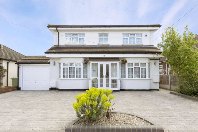 Thumbnail Detached house for sale in Cranham Gardens, Upminster