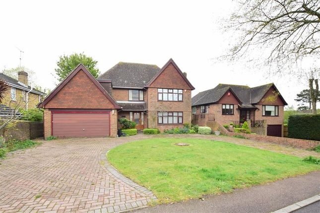 Thumbnail Detached house for sale in Grams Road, Walmer, Deal, Kent