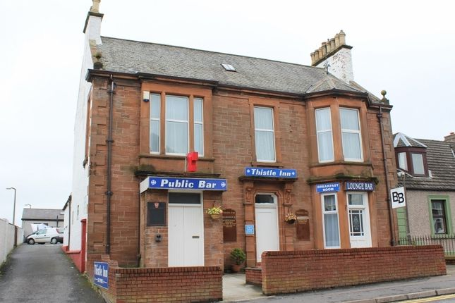 Thumbnail End terrace house for sale in Thistle Inn, Dalrymple Street, Stranraer