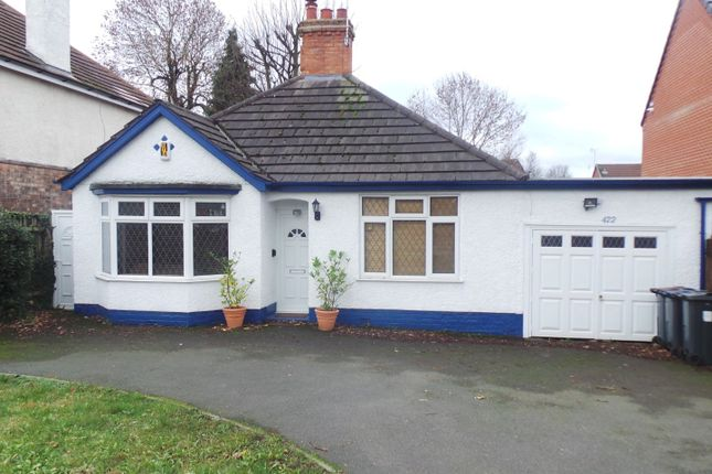 Thumbnail Detached bungalow for sale in Glovers Trust Homes, Chester Road, Sutton Coldfield