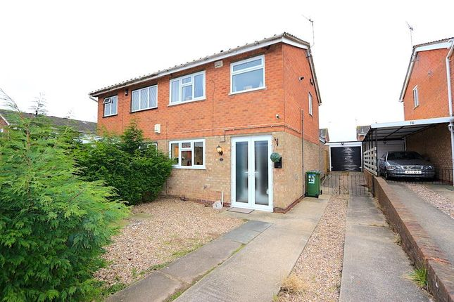 Thumbnail Semi-detached house for sale in Bramble Way, Braunstone, Leicester