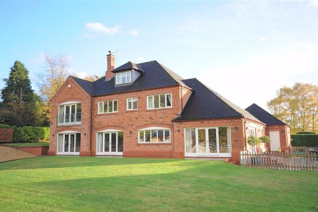 Thumbnail Detached house for sale in Snape Hall Road, Whitmore, Newcastle-Under-Lyme