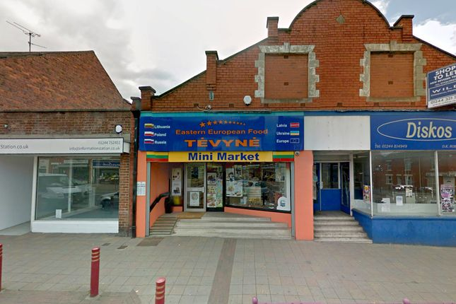 Thumbnail Retail premises to let in 73 Chester Road West, Shotton, Deeside