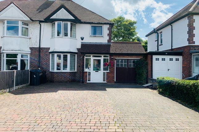 Thumbnail Semi-detached house for sale in Jockey Road, Boldmere, Sutton Coldfield