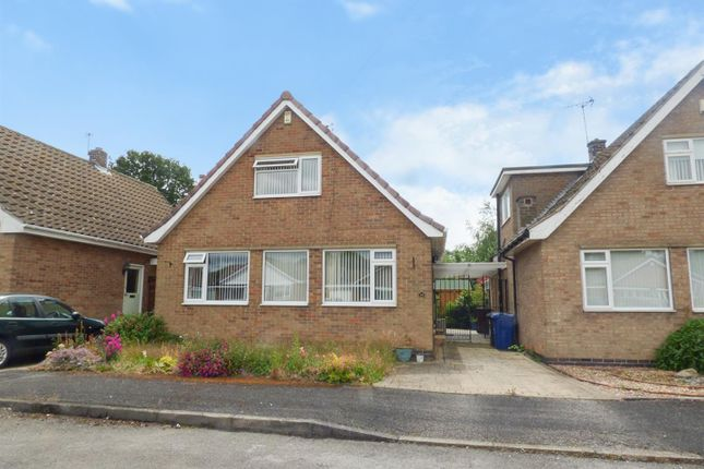 Thumbnail Detached bungalow for sale in Holly Avenue, Breaston, Derby