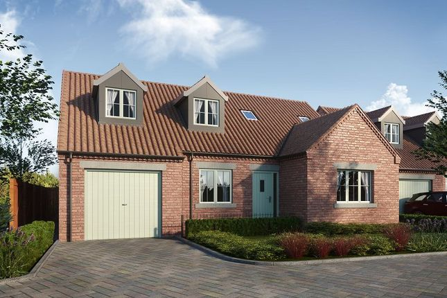 Thumbnail Detached bungalow for sale in The Barge, The Moorings, Thorne