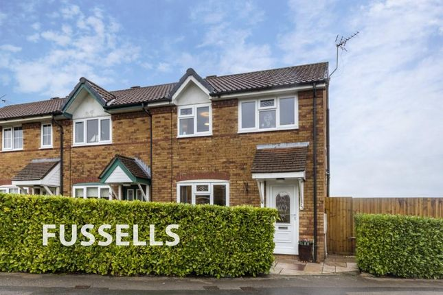 Thumbnail End terrace house for sale in Meadow Way, Caerphilly