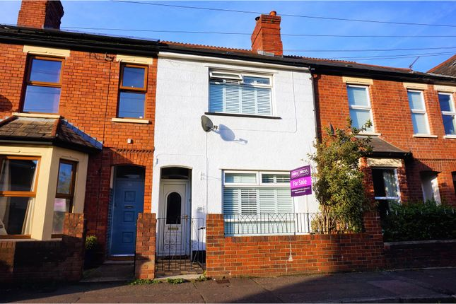 Thumbnail Terraced house for sale in Evansfield Road, Cardiff