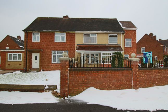 Thumbnail Semi-detached house for sale in Hales Crescent, Bearwood, Smethwick