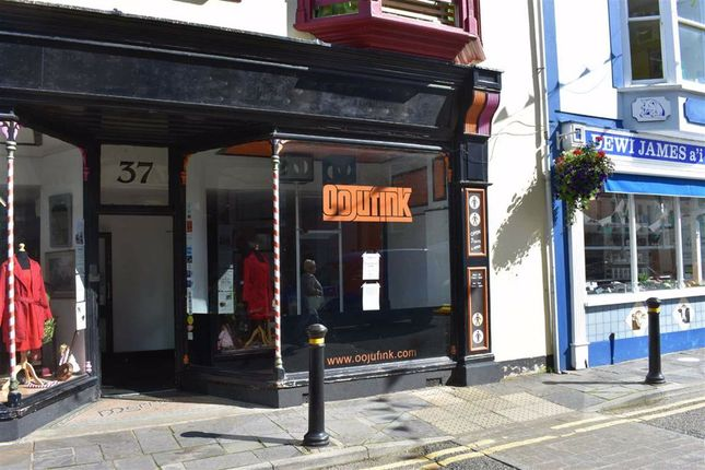 Thumbnail Retail premises to let in High Street, Cardigan, Ceredigion
