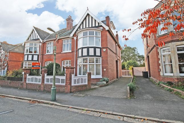 Thumbnail Semi-detached house for sale in Marlborough Road, St. Leonards, Exeter