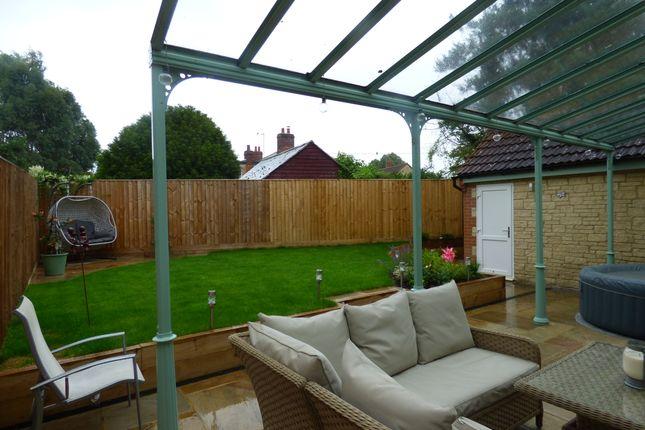Rear Garden of The Paddock, Longworth OX13