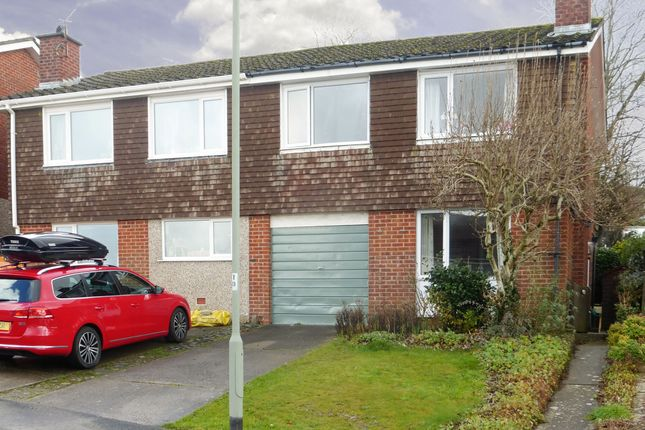 Thumbnail Semi-detached house for sale in Cleeve Drive, Ivybridge