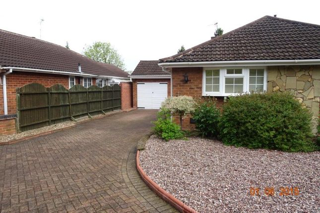 Thumbnail Bungalow to rent in Heronfield Way, Solihull