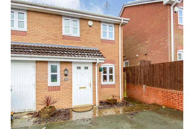 2 bed end terrace house for sale in College Fields, Wrexham LL11