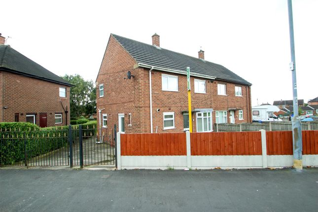 Thumbnail Semi-detached house to rent in Ubberley Road, Bentilee, Stoke-On-Trent