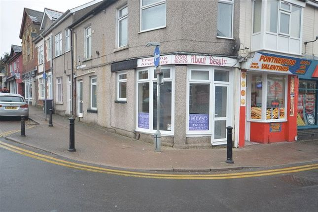 Thumbnail Retail premises to let in Commercial Street, Pontnewydd, Cwmbran