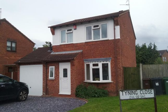 Thumbnail Detached house for sale in Tyning Close, Pendeford, Wolverhampton