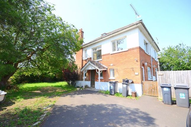 Thumbnail Flat to rent in Stokewood Road, Winton, Bournemouth