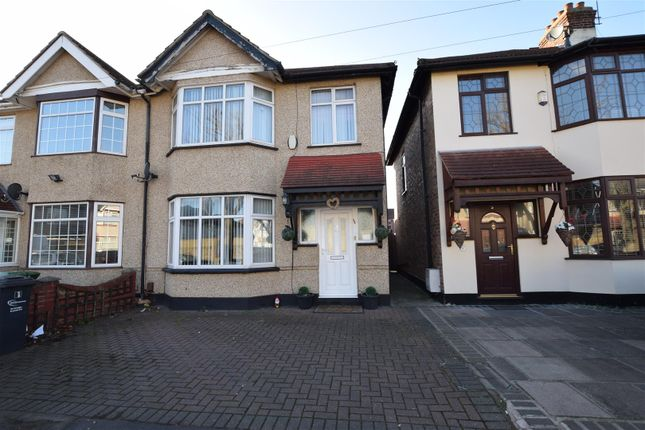 Thumbnail Semi-detached house for sale in Beresford Gardens, Chadwell Heath, Romford