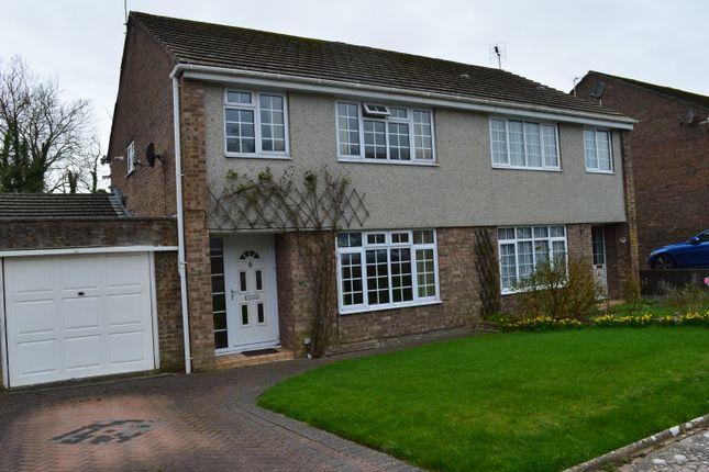 Thumbnail Semi-detached house for sale in Raglande Court, Llantwit Major