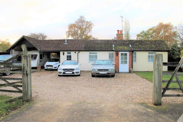 Thumbnail Bungalow for sale in Hollesley Road, Rendlesham, Woodbridge