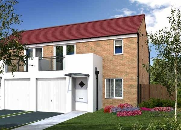 "Thumbnail Semi-detached house for sale in ""The Rufford"" at Greatham Avenue, Stockton-On-Tees"