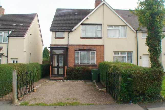Thumbnail End terrace house for sale in Eachway, Rednal