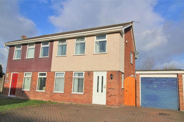 Thumbnail Semi-detached house for sale in Marlston Avenue, Irby, Wirral