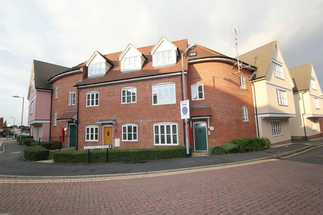 Thumbnail Flat for sale in Weavers Close, Dunmow, Essex