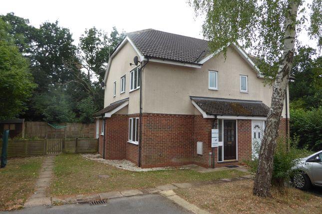 Thumbnail Terraced house to rent in Summerfields, Chineham, Basingstoke