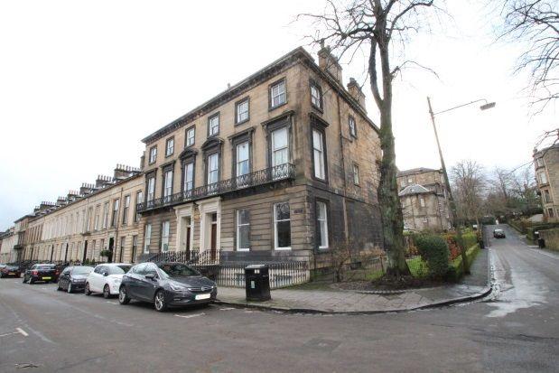 Thumbnail Flat to rent in Kew Terrace, Glasgow