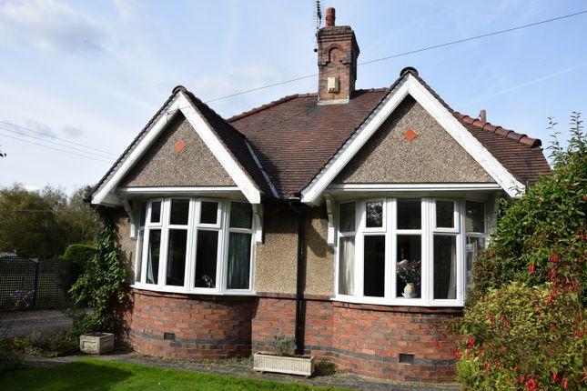 Thumbnail Bungalow for sale in Nottingham Road, Ashby De La Zouch