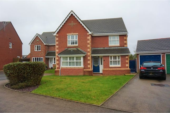 4 bed detached house for sale in Rhodfa Glascoed, Blackwood