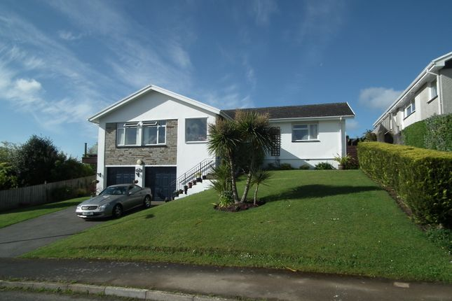 Thumbnail Detached bungalow for sale in Portbyhan Road, West Looe, Cornwall