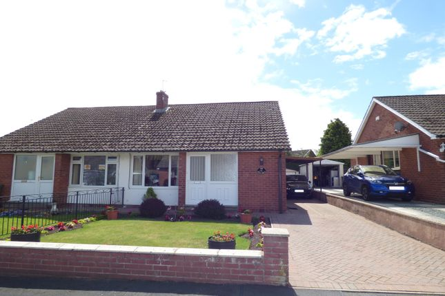 Thumbnail Semi-detached bungalow for sale in Beech Grove, Houghton, Carlisle
