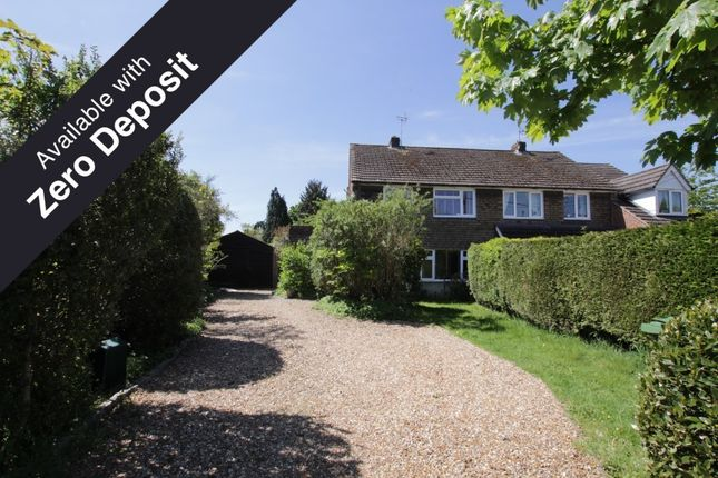 Thumbnail Semi-detached house to rent in Bridle Path, Woodcote, Reading