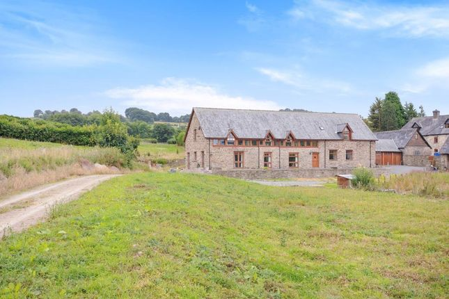 Thumbnail Detached house for sale in Ysgubor Hir, Crickadarn Builth Wells
