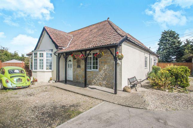 Thumbnail Detached bungalow for sale in Bath Road, Bawdrip, Bridgwater