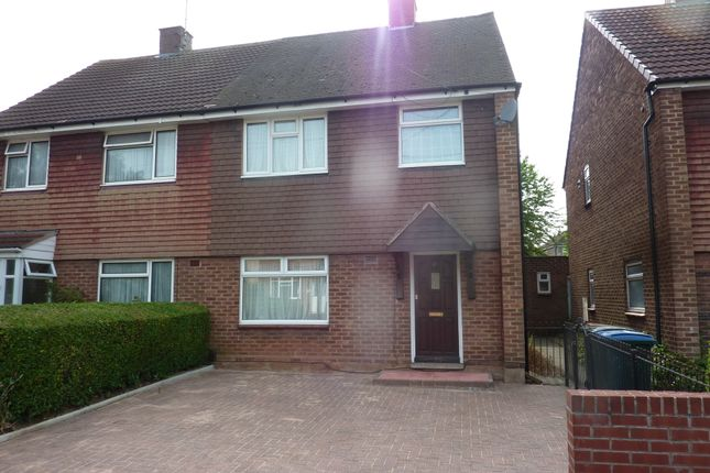 Thumbnail Semi-detached house to rent in Treherne Road, Radford, Coventry