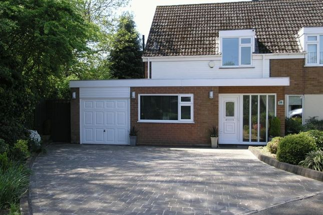 Thumbnail Semi-detached house for sale in Chadbury Road, Halesowen