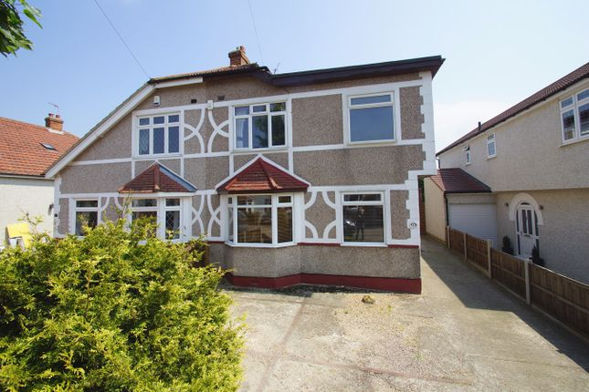 Thumbnail Semi-detached house for sale in Elmcroft Avenue, Sidcup