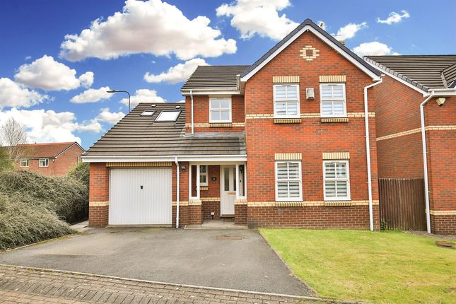Thumbnail Detached house for sale in Clos Rhiannon, Thornhill, Cardiff