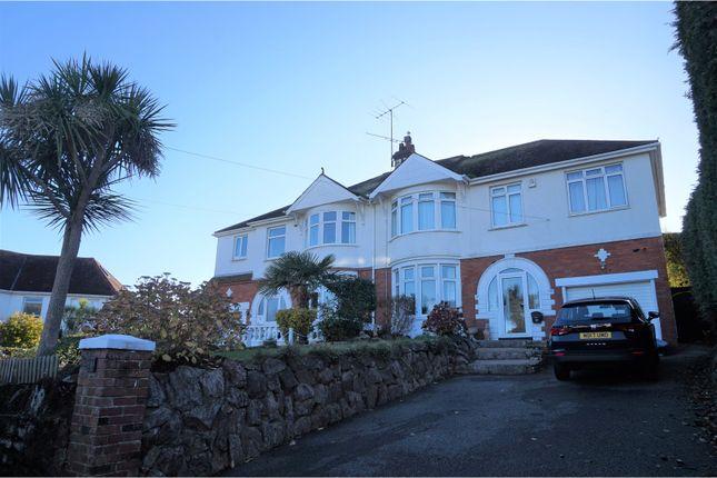 Thumbnail Semi-detached house for sale in Osney Avenue, Paignton