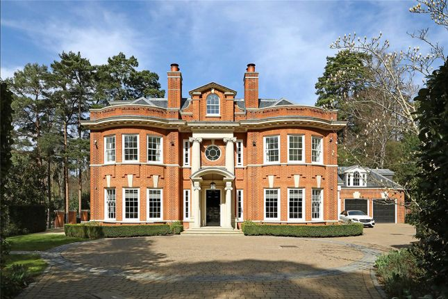 Thumbnail Detached house for sale in Golf Club Road, St George's Hill, Weybridge, Surrey