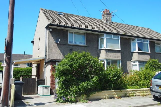 Thumbnail Flat to rent in Palmer Grove, Morecambe