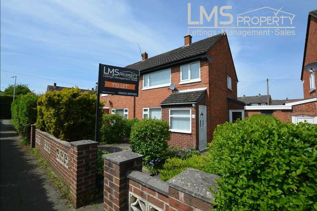 Thumbnail Semi-detached house to rent in Burland Grove, Winsford
