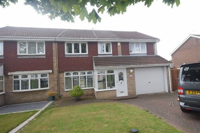 Thumbnail Semi-detached house to rent in Fennel Grove, South Shields