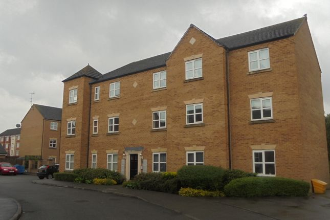 Thumbnail Flat to rent in Coral Close, Pride Park, Derby